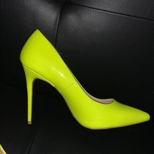 Forever 21 Neon Pumps